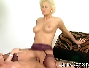 Blonde boss gets fucked
