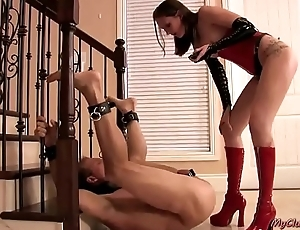 Wild pegging and ballbusting collection