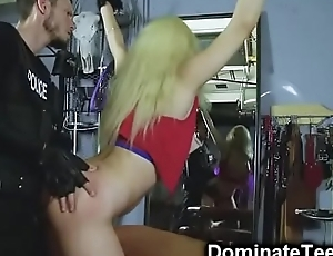 Girl Destroyed By Police Officer!