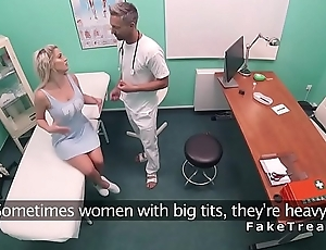 Busty beauty bangs doctors big dick