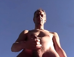 HOT NICE CUM OUTDOOR IN PUBLIC HOMEMADE AMATEUR SOLO DILF HAIRY NAKED HARD Blarney