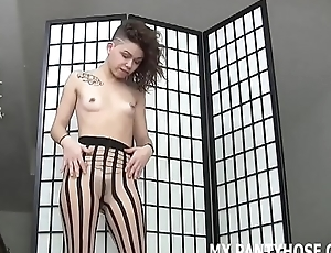 You will realize addicted to me in pantyhose JOI