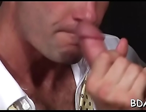 Unmanly hunks school anal
