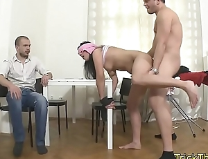 Cheating gf punished away from her exbfs friend