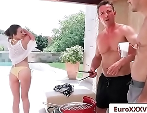 Euro Sex Party Fuck - Double Dicking Doll with Tiffany Doll clip-01