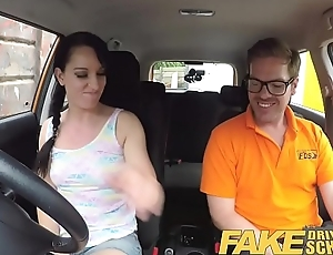 Shtick Driving School Cheating learners tight cum-hole rim with cum