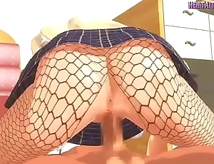 Unshortened at WWW.HENTAITOON.CLUB - Hentai Teen In Stockings
