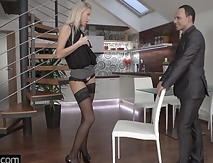 Glamkore - Sexy Euro Babe Karol Lilien Striptease for will not hear of lover