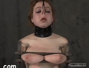 Tormenting babe&#039_s cum-hole with toy