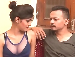 Sexy Indian milf cleavage show boob press kissing Indian HD Bhabhi