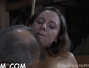 Sexy slaves delighting backup