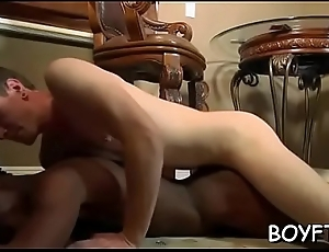 Gays take up with the tongue cocks and cum