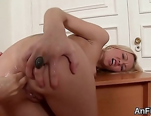 Foxy lesbian babes are gaping and fist fucking ass holes