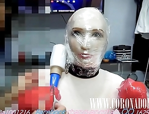 subjugation tape dog Face Sitting Breath Play