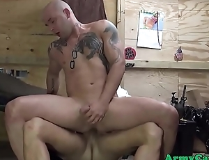 Army amateurs anal fuck plus cocksuck at party