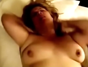 Simmering Face Wife Bouncing Say no to Tits And Moaning While Gets Say no to Best Fuck Ever
