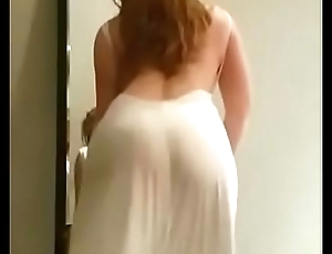 sexy dance of arab wife
